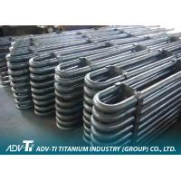 U Shape Titanium Heat Exchanger Tube Seamless / Welded ASTM B338 GR1 Manufactures