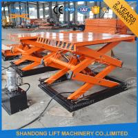China Small Stationary Hydraulic Scissor Lift Elevator Electric Scissor Lift Table on sale