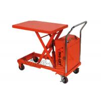 China Mobile Electric Scissor Lifting Table Equipment Hydraulic Heavy Duty on sale