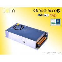 China 12V,24V 300W metal case switching DC power supply 12V with fan cooling,pass CE,ROHS,2 year warranty on sale