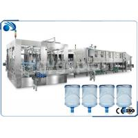 Automatic 3 /5 Gallon Water Bottle Filling Machine , Mineral Water Filling Machine Manufactures