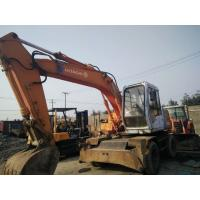 China used excavator for sale original paint colour WHEEL excavator on sale