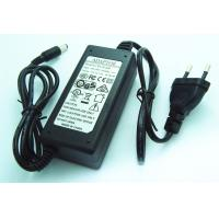 Quality EU Plug 24W 12V 2A Desktop DC Power Supply Adapter with Two Wire Connect for sale