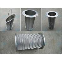 Durable Wedge Wire Filter Elements Stainless Steel Mine Sieving 60-95% Filter Rating Manufactures