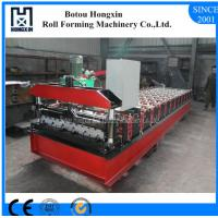Profile Roofing Sheet Manufacturing Machine 8 - 12m / Min Working Speed Manufactures