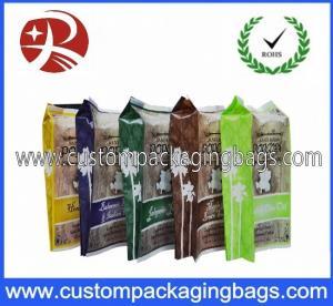 Oxygen Resistance Printed Plastic Food Packaging Bags / Laminated Popcorn Bag