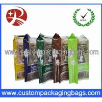 Quality Oxygen Resistance Printed Plastic Food Packaging Bags / Laminated Popcorn Bag for sale