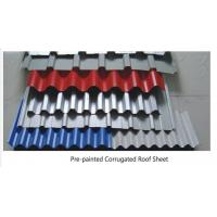 Customized PRE-PAINTED Corrugated steel Roof Sheets for building adornment Corrugated Steel Roof Sheets Manufactures