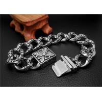 Shopping Gift Stainless Steel Bangle Bracelets With Square Buckle Charm Bracelets Manufactures