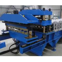 High Efficiency Standing Seam Roll Forming Machine 13 Rows Roller Station Manufactures