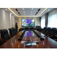 High Refresh Indoor Advertising LED Display For Meeting Room P2.5 Water Resistant