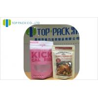 BPA Free Zipper Closure PET/PE Food Pouch Packaging Individual Logo Manufactures