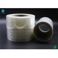 Non - Toxic BOPP Holographic Film For Cigarette Machine / Hand 3% - 10% Shrinkage Rate Manufactures