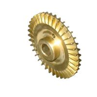 OEM brass copper pump impeller , sand casting vane wheel impeller  ASTM , GB , DIN , EN Manufactures