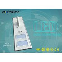 High Brightness Solar Panel Street Lights , Automatic Solar Street Light All In One Manufactures