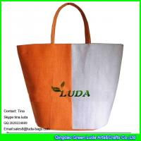 LUDA 2012 popular straw tote bag canton fair paper straw bags Manufactures