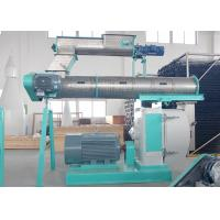 Commercial Poultry Feed Pellet Machine Ring Die Type With Three Phase Motor Manufactures