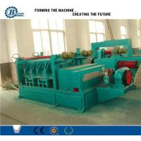 Automatic Metal Slitting Line , Steel Coil Slitting Machine Line With Recoiler Manufactures