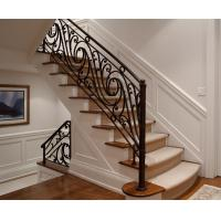 China Steel Cast Iron Stair Railing Wrought Iron Railing Temperature Change Resistance on sale