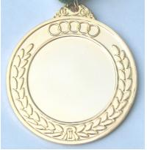 Blank gold plating medal Manufactures