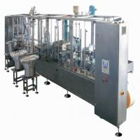 Plastic Bag Aseptic Bag Filler , Liquid Bag Filling Equipment High Temp Resistant Manufactures