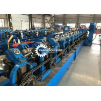 China 80-300mm Interchangable C Z U Purlin Roll Forming Machine For Steel Frame on sale