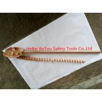 """Non-Sparking Safety Hand Tools Chain Pipe Wrench By Copper Beryllium Dia 8""""x36"""" Manufactures"""