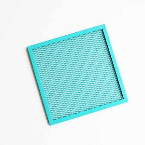Aluminum Fluorocarbon Mesh Ceiling Panels Heat Insulation Moisture - Proof Manufactures