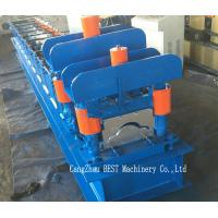 Roof Ridge Cap Cold Roll Forming Machine PLC Control with Hydraulic Cutting Manufactures