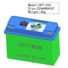 China 12V / 120Ah Grid Lithium Iron Phosphate Batteries Pack w/ 5C Peak Discharge Current on sale