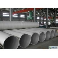 A312 Welded Stainless Steel Pipe For Decoration 201 / 304 / 410 / 430 Grade Manufactures