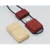 12MB/sec Write Speed Eco Friendly 2GB 4GB Lanyard Wooden Usb Flash Drive Storage Disk Manufactures