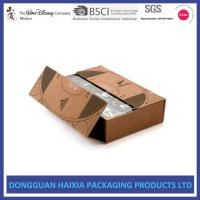 China Light Weight Custom Printed Cosmetic Boxes Glossy Varnishing Design HEIDEL on sale