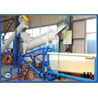 HDPE LDPE PP PE Film Plastic Crushing Washing Drying Machine Recycling line Manufactures