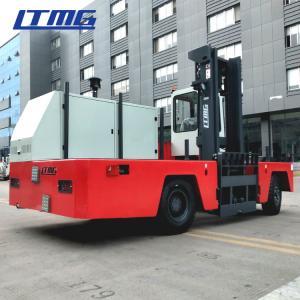 China 5000kg  Capacity Side Loading Forklift Truck , Narrow Aisle Lift Trucks For Steel Plant on sale