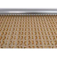 Fine Aluminum Fly Screen Chain Curtain Size Customized For Door / Window Manufactures
