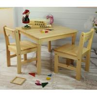 China Tiger School furniture --square table with chairs , Montessori furniture on sale
