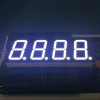 Common Anode 4 Digit Seven Segment Display 2.8-3.3V/ Led For Temperature Controller Manufactures