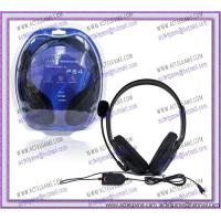 PS4 Wired Gaming Headset PS4 game accessory Manufactures