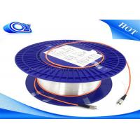 China multimode fiber patch cable / Indoor Fiber Optic Cable Diameter 0.25mm - 3.0mm on sale