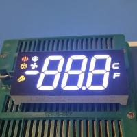 China Multicolor 3 Digit Seven Segment Display Ultra Bright For Refrigerator Control on sale