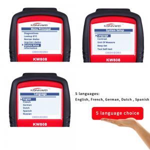 China Portable Automotive Code Readers Scan Tools  Displays Live O2 Sensor Test Data on sale