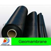 china hot sale hdpe geomembrane liner Manufactures