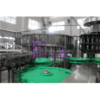 Coffee / Tea / Pulp Juice Bottle Filler Machine Silver Gray With Recycling System Manufactures