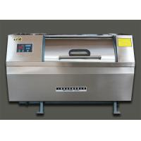 Horizontal Drum Laundry Industrial Washing Machine Fully Automatic 100kg Capacity Manufactures