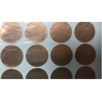 China Metal High Thermal Conductivity Copper Foil 0.05mm 0.075mm Thickness on sale