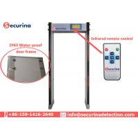 Full Body Walk Through Door Frame Arched Metal Detector 50/60Hz Easy To Install Manufactures