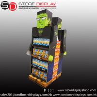 creative eye-catching double sides floor display shelf rack Manufactures