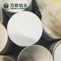 Deep Drawing Anodized Aluminum Discs Round Shape For Making Road Sign Manufactures
