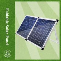 Foldable 120w solar panels for home use and inverter Manufactures